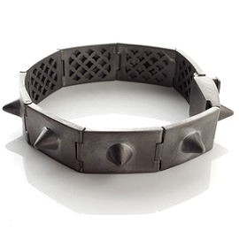 Jillian Dempsey Fine Jewelry Black Rhodium ANARCHY Bracelet
