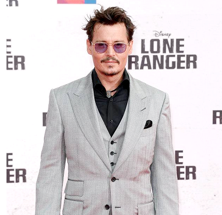 "Johnny Depp in Tom Ford | ""The Lone Ranger"" Berlin Premiere"