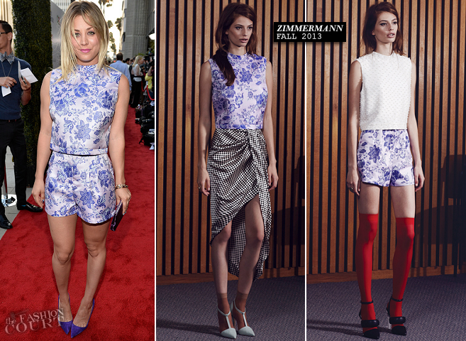 Kaley Cuoco in Zimmermann | 'Blue Jasmine' LA Premiere