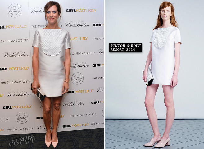 Kristen Wiig in Viktor & Rolf | 'Girl Most Likely' NYC Screening