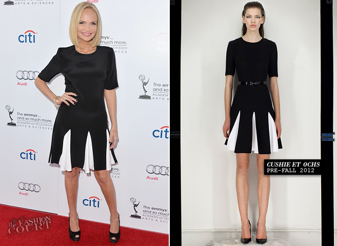 Kristin Chenoweth in Cushnie et Ochs | 'An Evening with Carol Burnett'