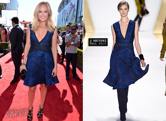 Malin Akerman in J. Mendel | 2013 ESPY Awards