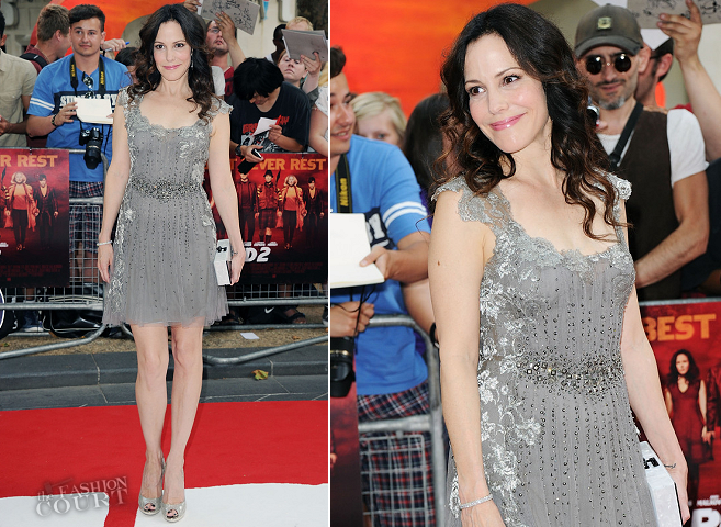Mary Louise Parker in Alberta Ferretti | 'RED 2' London Premiere