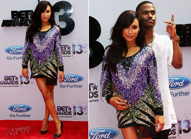 Naya Rivera in Emilio Pucci | 2013 BET Awards