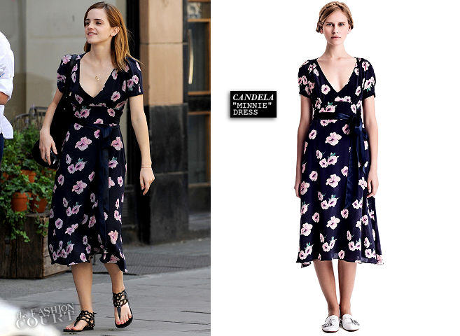 Emma Watson Lunches in London Wearing Candela!