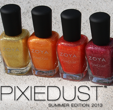 Review: Zoya Pixie Dust Summer 2013 Edition