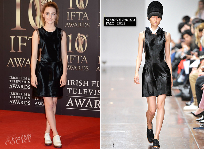 Saoirse Ronan in Simone Rocha | 2013 Irish Film and Television Awards