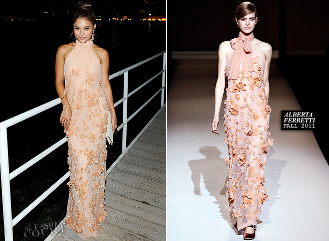 Vanessa Hudgens in Alberta Ferretti | 'The Frozen Ground' Premiere - 2013 Ischia Film Festival