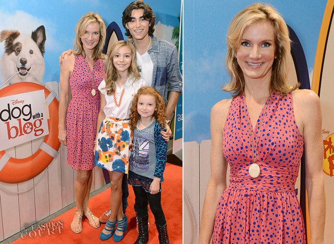 Beth Littleford in Marc Jacobs | 'Dog with a Blog' D23 Expo 2013 Fan Event