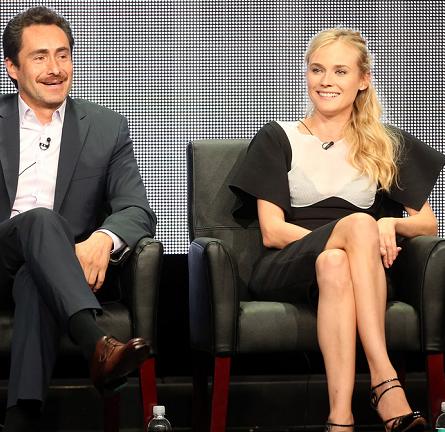 Diane Kruger in Antonio Berardi | 2013 Summer TCA Tour: 'The Bridge' Panel