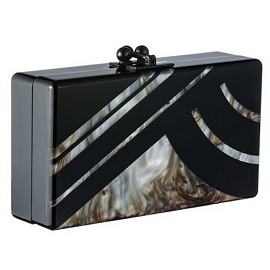 Edie Parker Fall 2013 Acrylic with New Mica Box Clutch