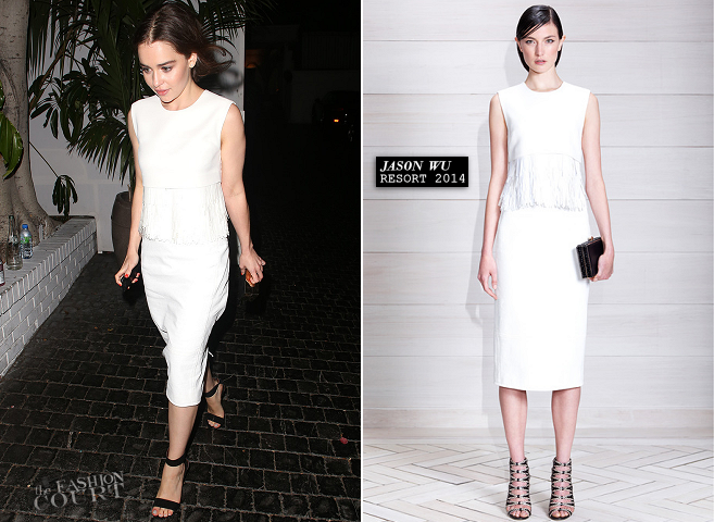 Emilia Clarke in Jason Wu | Television Critics Association Awards 2013