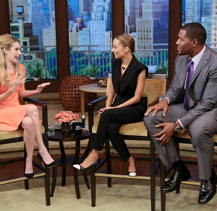 Emma Roberts in A.L.C. | 'LIVE! with Kelly and Michael'