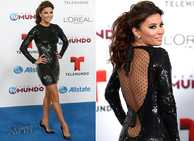 Eva Longoria in Emilio Pucci | Telemundo's Premios Tu Mundo Awards 2013