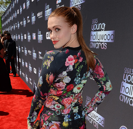 Holland Roden in Ted Baker   2013 Young Hollywood Awards