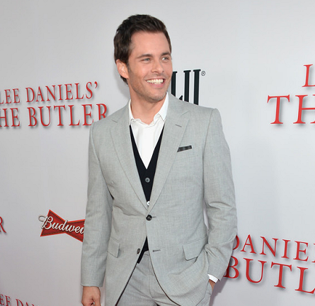 James Marsden in Saint Laurent | 'The Butler' LA Premiere