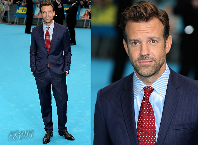 Jason Sudeikis in Dior Homme | 'We're The Millers' London Premiere