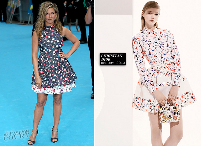 Jennifer Aniston in Christian Dior | 'We're The Millers' London Premiere