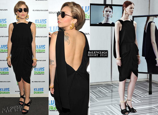 Lady Gaga in Balenciaga | 'Elvis Duran and the Morning Show'