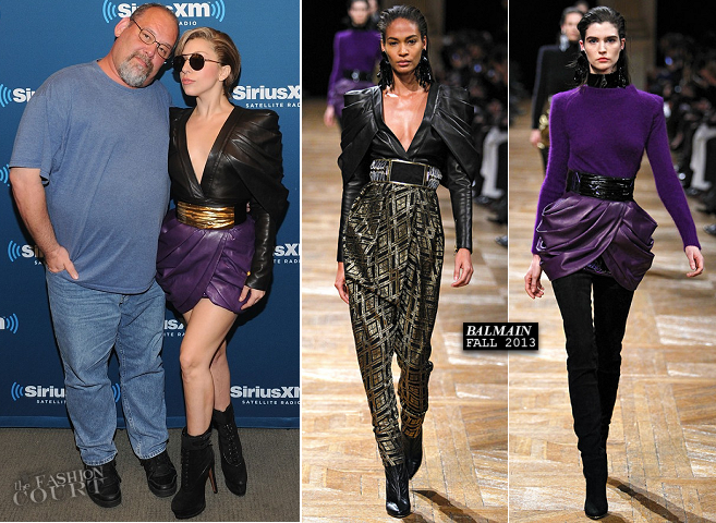 Lady Gaga in Balmain | 'The Morning Jolt with Larry Flick'