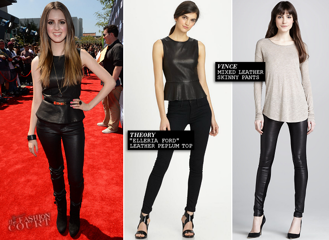 Laura Marano in Theory & Vince | 2013 Young Hollywood Awards