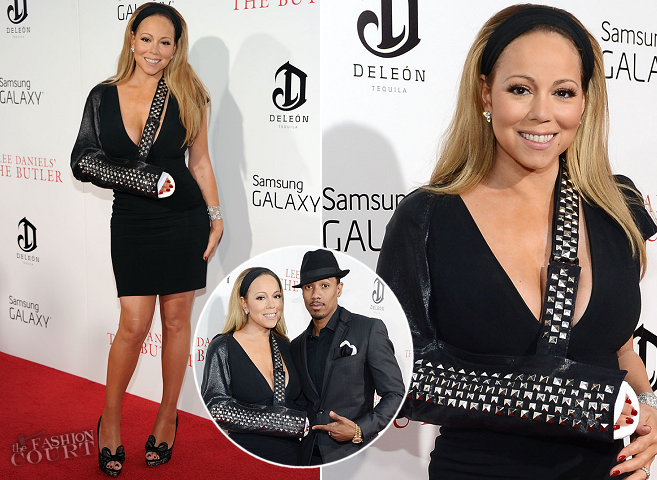 Mariah Carey in Tom Ford | 'The Butler' NYC Premiere