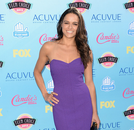 Michelle Rodriguez in David Meister | 2013 Teen Choice Awards