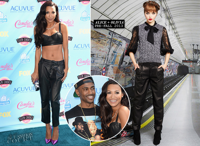 Naya Rivera in Alice + Olivia | 2013 Teen Choice Awards
