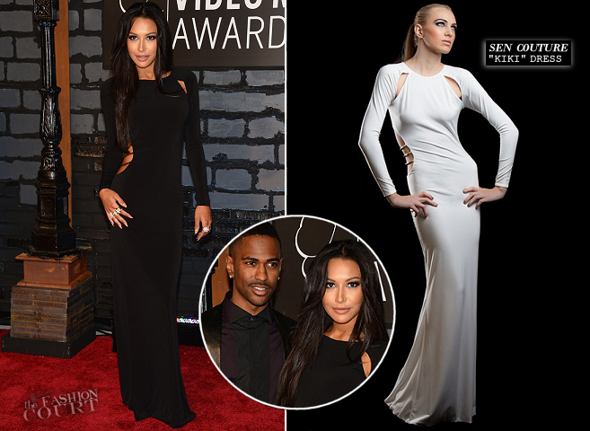 Naya Rivera in Sen Couture | 2013 MTV Video Music Awards