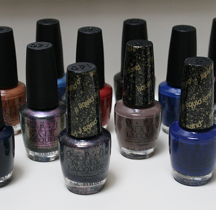 Review: OPI San Francisco Fall/Winter 2013 Collection