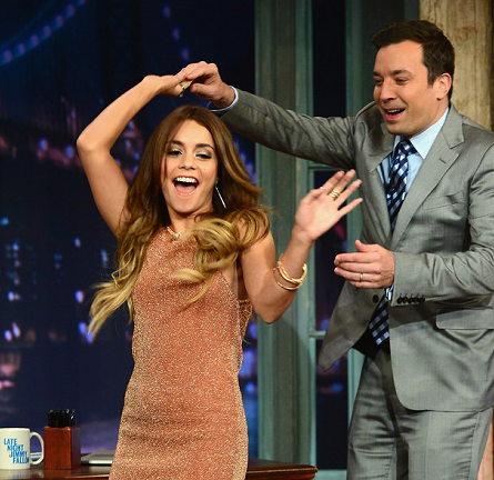 Vanessa Hudgens in Bec & Bridge | 'Late Night with Jimmy Fallon'