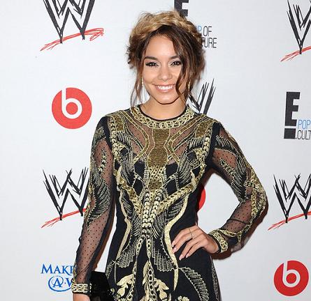 "Vanessa Hudgens in Temperley London | WWE's ""Superstars for Hope"" Event"