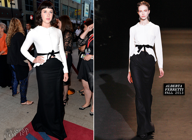 Alexandra Roach in Alberta Ferretti | 'One Chance' Premiere - 2013 Toronto International Film Festival
