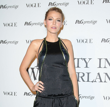 Blake Lively in Gucci | 'Beauty in Wonderland' Exhibition