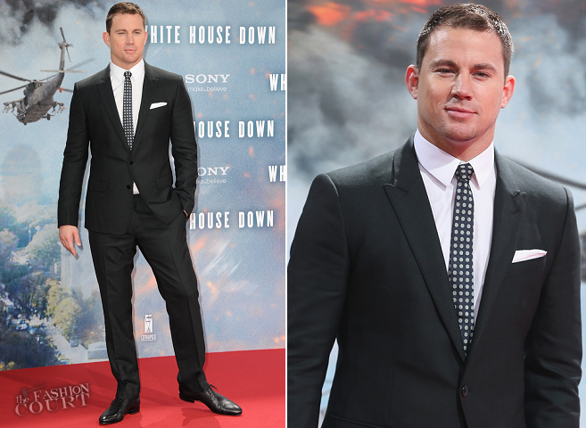 Channing Tatum in Dolce & Gabbana | 'White House Down' Berlin Premiere