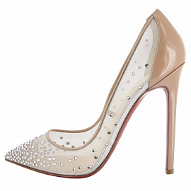 Christian Louboutin BODY Strass Pumps