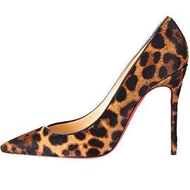Christian Louboutin DECOLLETE Animal Print Pumps