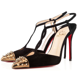 Christian Louboutin Geotistrap 100mm Veau Velours Sandals