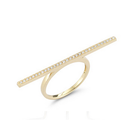 Dana Rebecca Designs Sylvie Rose Long Bar Ring