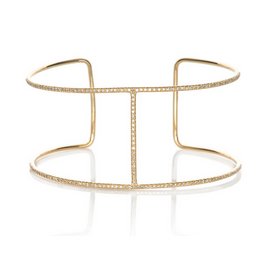 EF Collection Diamond Bar Cuff