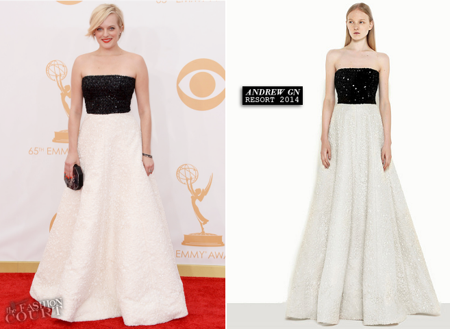 Elisabeth Moss in Andrew Gn | 2013 Emmys