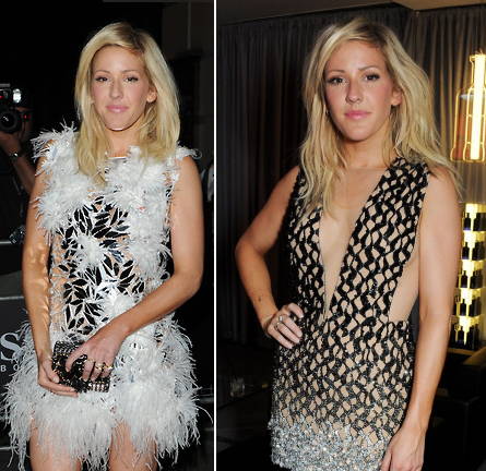 Ellie Goulding in Julien Macdonald | GQ Men of the Year Awards 2013