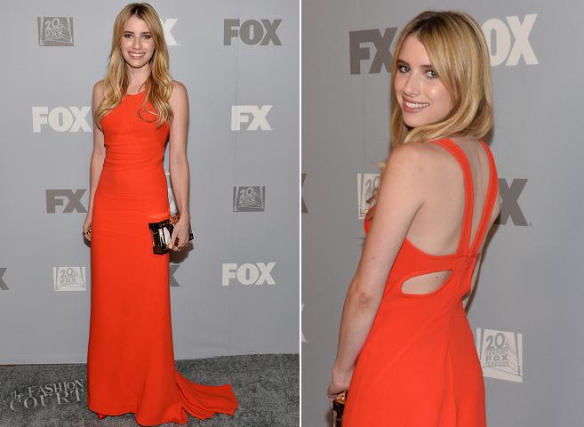 Emma Roberts in Stella McCartney | FOX & FX Post Emmy Party 2013