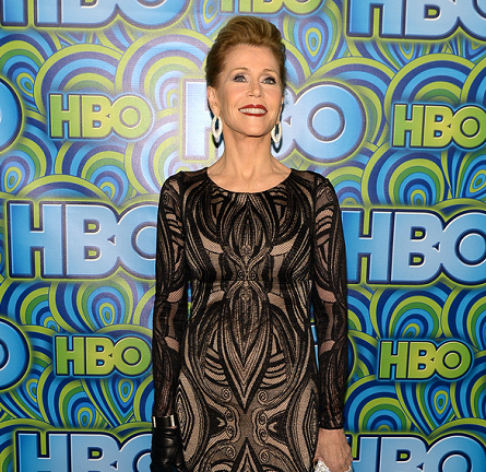Jane Fonda in David Meister | HBO's Official Emmy After Party 2013