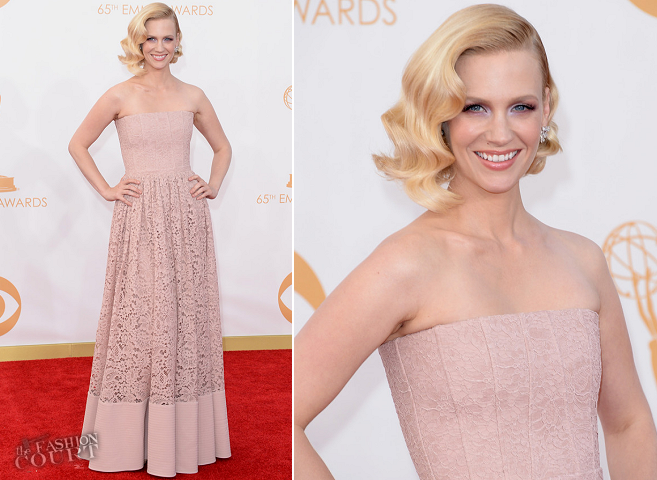 January Jones in Givenchy | 2013 Emmys