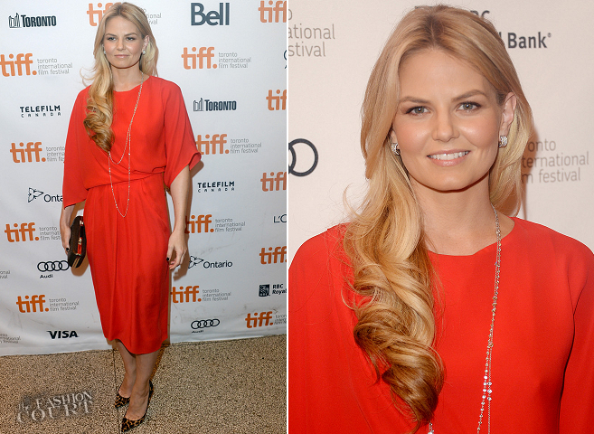Jennifer Morrison in Max Mara | 'Felony' Premiere - 2013 Toronto International Film Festival