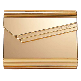 Jimmy Choo Candy Acrylic Metallic Clutch
