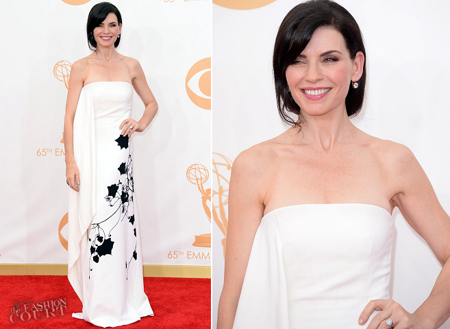 Julianna Margulies in Reed Krakoff | 2013 Emmys