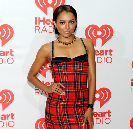 Kat Graham in Dolce & Gabbana | iHeartRadio Music Festival 2013 - Day 2