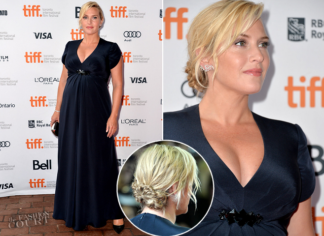 Kate Winslet in Jenny Packham | 'Labor Day' Premiere - 2013 Toronto International Film Festival